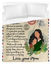 Letter to daughter Duvet Cover tile