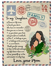 """Letter to daughter Small Fleece Blanket - 30"""" x 40"""" front"""
