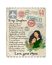 Letter to daughter Quilt tile