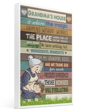 GRANDMA'S HOUSE - CARTOON 16x24 Gallery Wrapped Canvas Prints front