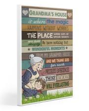 GRANDMA'S HOUSE - CARTOON Gallery Wrapped Canvas Prints tile