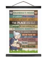 GRANDMA'S HOUSE - CARTOON Hanging Canvas tile