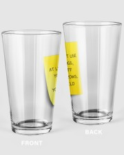 NOTE FOR MOM Pint Glass tile