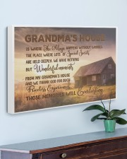 GRANDMA'S HOUSE - SUNSET 30x20 Gallery Wrapped Canvas Prints aos-canvas-pgw-30x20-lifestyle-front-01