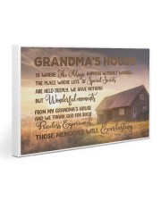 GRANDMA'S HOUSE - SUNSET 30x20 Gallery Wrapped Canvas Prints front