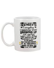 Trophy for my baby Mug back