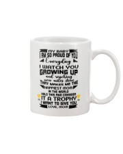 Trophy for my baby Mug front