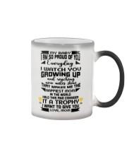 Trophy for my baby Color Changing Mug tile