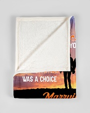 "CUSTOM VALENTINE'S GIFT - YOUR FISHING PARTNER 3 Small Fleece Blanket - 30"" x 40"" aos-coral-fleece-blanket-30x40-lifestyle-front-17"