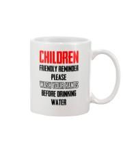 Friendly reminder Mug front