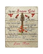 Brave girl - vintage cross Quilt tile