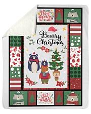 BEARRY CHRISTMAS - MOTHERHOOD Sherpa Fleece Blanket tile