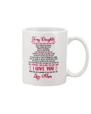Remember the last time - Daughter version Mug front