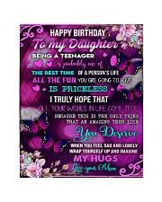 Happy birthday - Teenage daughter  Quilt tile