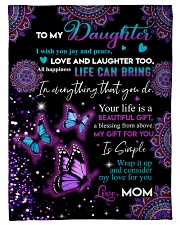 """Your life is a beautiful gift Small Fleece Blanket - 30"""" x 40"""" front"""