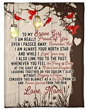 "Brave girl - Tree of love Small Fleece Blanket - 30"" x 40"" front"