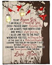 Brave girl - Tree of love Fleece Blanket tile