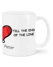 Personalized Couple Mugs Set - TILL THE END Mug front
