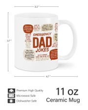 BEST MUG FOR DAD'S JOKE - Emergency Dad Jokes Mug ceramic-mug-lifestyle-62