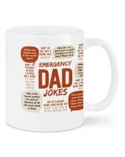 BEST MUG FOR DAD'S JOKE - Emergency Dad Jokes Mug front