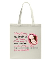 Personalized Meaningful Mother's Day gift Tote Bag tile