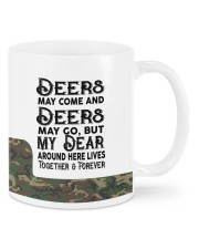 Personalized Hunting gift - My Dear around here Mug front