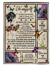 I want to thank me - butterfly woman Comforter tile