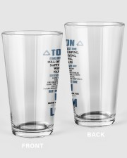 Remember the last time - Son version Pint Glass tile