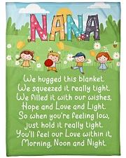 MORNING NOON AND NIGHT NANA Fleece Blanket tile