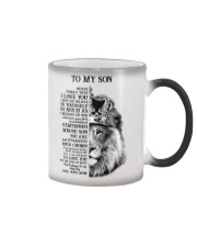 BELIEVE IN YOURSELF SON Color Changing Mug tile
