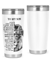 BELIEVE IN YOURSELF SON 20oz Tumbler front
