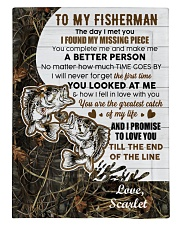 CUSTOMIZE VALENTINE GIFT - TO MY FISHERMAN Comforter tile