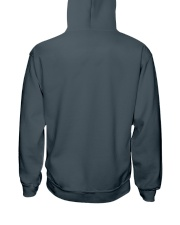 Mayweather - Don't run around like a girl Hooded Sweatshirt back