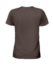 Mayweather - Don't run around like a girl Ladies T-Shirt back