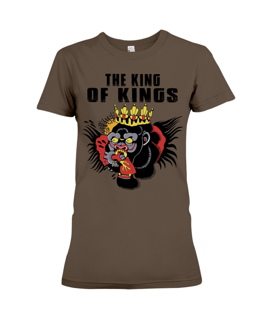 Conor McGregor - The King Of Kings Premium Fit Ladies Tee