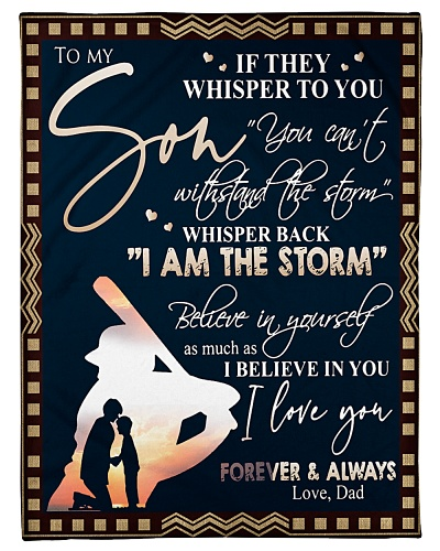 To My Son If They Whisper To You