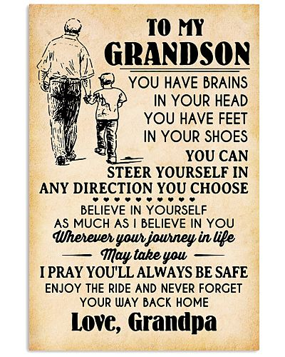 To My Grandson You Have Brains