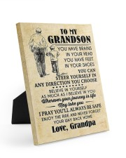 To My Grandson You Have Brains 8x10 Easel-Back Gallery Wrapped Canvas thumbnail