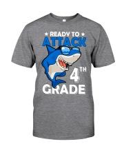 Ready To Attack 4th Grade  Classic T-Shirt thumbnail
