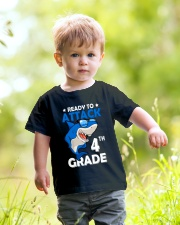Ready To Attack 4th Grade  Youth T-Shirt lifestyle-youth-tshirt-front-5
