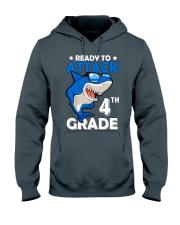 Ready To Attack 4th Grade  Hooded Sweatshirt thumbnail