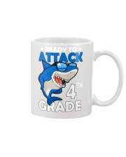 Ready To Attack 4th Grade  Mug thumbnail