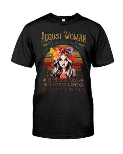 Woman Mermaid Lioness Hippie