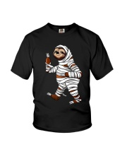 Halloween Sloth Youth T-Shirt front