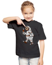Halloween Sloth Youth T-Shirt lifestyle-youth-tshirt-front-2