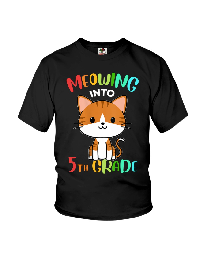 Meowing Into 5th Grade Youth T-Shirt