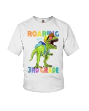 Roaring Into 3rd Grade Youth T-Shirt front