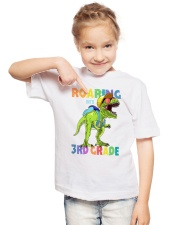Roaring Into 3rd Grade Youth T-Shirt lifestyle-youth-tshirt-front-2
