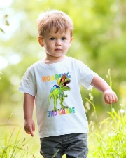 Roaring Into 3rd Grade Youth T-Shirt lifestyle-youth-tshirt-front-5
