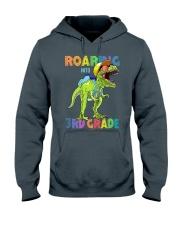 Roaring Into 3rd Grade Hooded Sweatshirt thumbnail